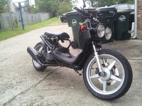 163cc  Honda Ruckus with 16