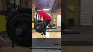295x5 (but phone fell over after 3rd rep)