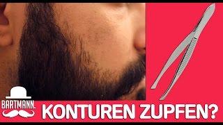 KONTUREN ZUPFEN OHNE SCHMERZEN?! | BARTMANN
