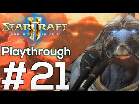 THE HOST - Part 21: Starcraft 2 Legacy of the Void Playthrough Gameplay with Commentary SC2 LotV