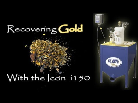 Icon I150 Gold Concentrator For My Gold Processing Plant (Hard Rock Mining 2018)