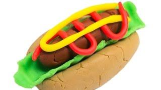 Hot dog topping,Sausage,Lettuce,Ketchup,Mustard,combos! Play Doh