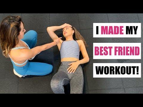 i-made-my-best-friend-workout-like-me!!