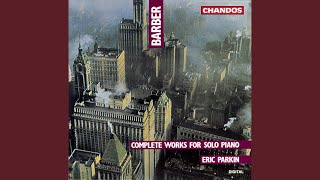 Excursions, Op. 20: II. In slow blues tempo