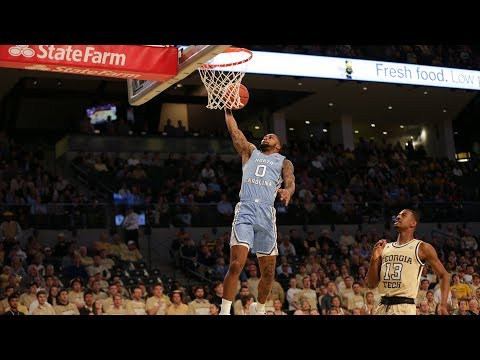 Men's Basketball: Heels Squash Yellow Jackets in Atlanta, 77-54