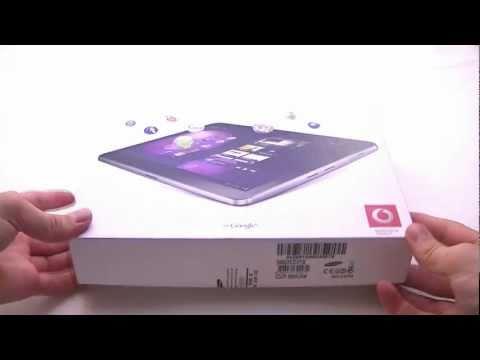 English: Samsung Galaxy Tab 10.1v unboxing