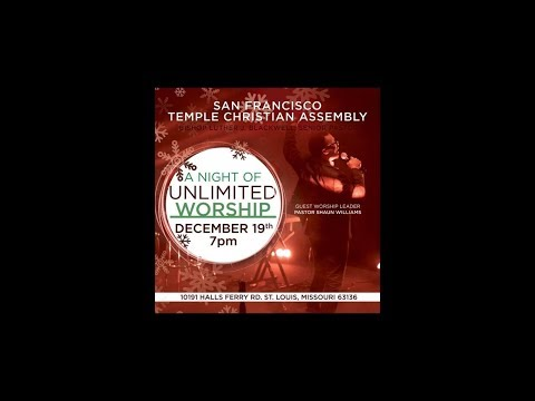 A NIGHT OF UNLIMITED WORSHIP  - Part 1