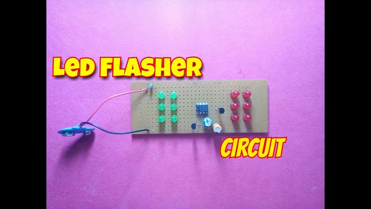 Led Flasher Wiring Diagram on