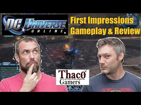 DC Universe Online [DCUO] | First Impressions | Is It Worth Playing | Gameplay & Review 2018