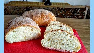 Чиабатта для новичка легкий рецепт вкуснейшего хлеба который всегда получается Ciabatta Recipe