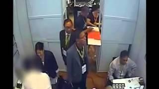 The robbery of a $300000 Diamond catch on cctv