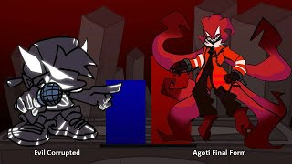 Corrupted Boyfriend VS Agoti Power Levels - FRIDAY NIGHT FUNKIN' POWER LEVELS