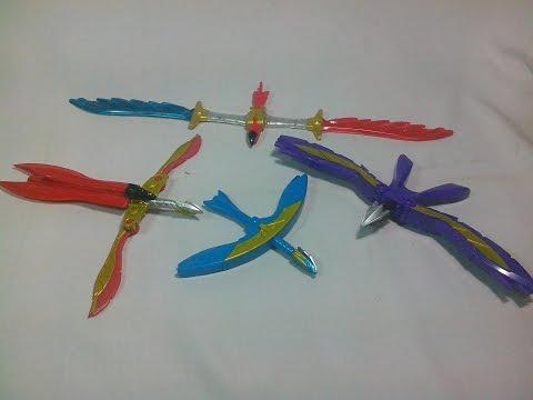 Satria Garuda Bima X Toys Bandai : Weapon Collection Review