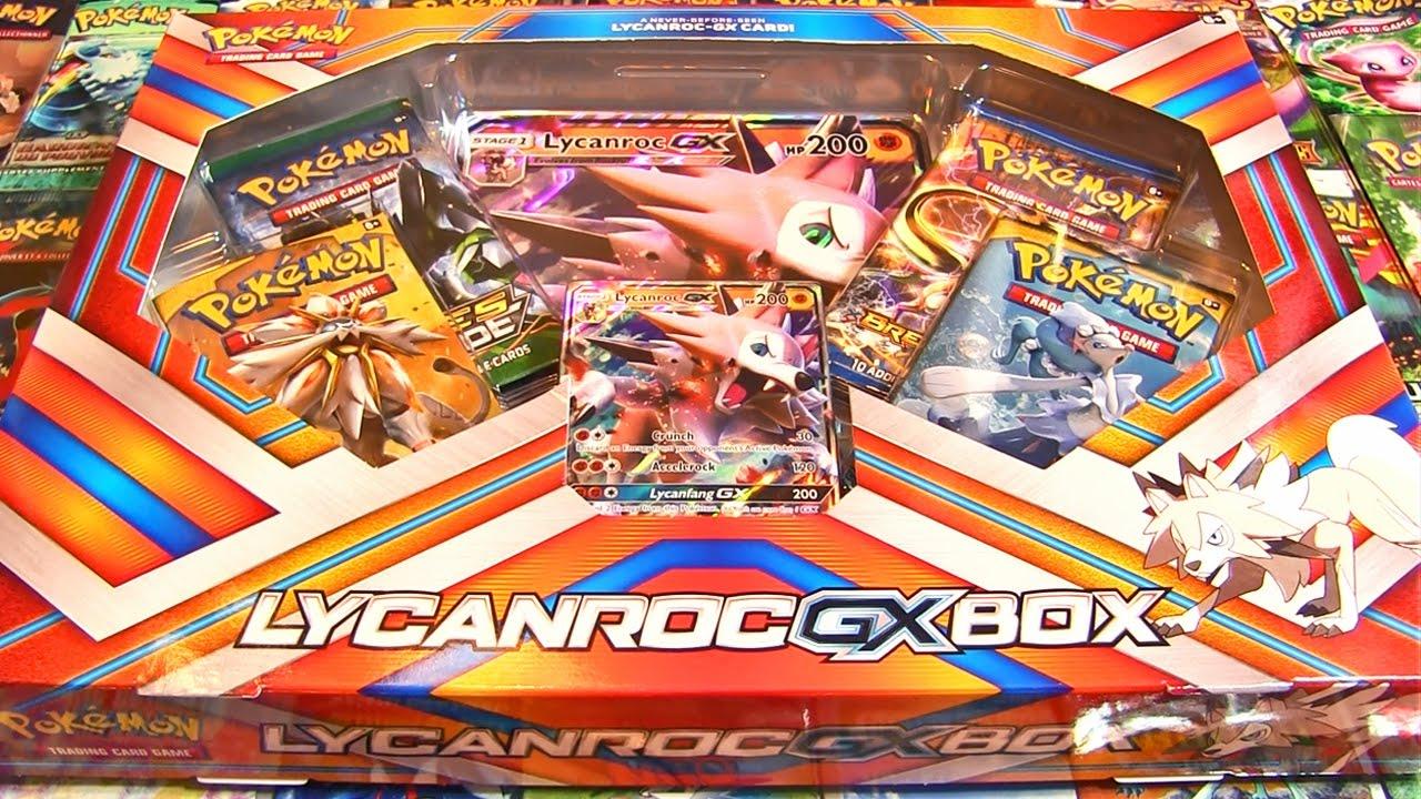 Coffret Pokémon Lougaroc Gx FRANCAIS