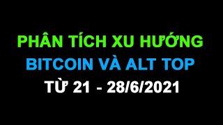 #224: PHÂN TÍCH XU HƯỚNG BITCOIN VÀ ALT TOP 21 - 28/6/2021
