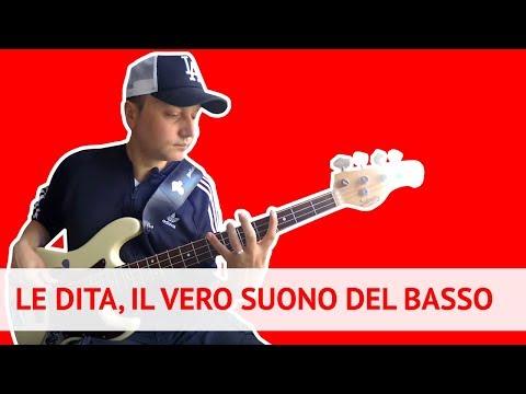 Il vero suono di un bassista: le dita! (Lez. 182)