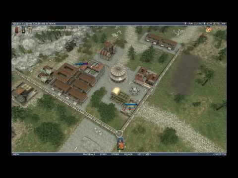 Grand Ages Rome Campaign Mission Video Across the Rhine Part 1 of 2 with hints and tips by Adekyn |