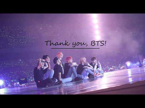 ❥ Thank you, BTS!
