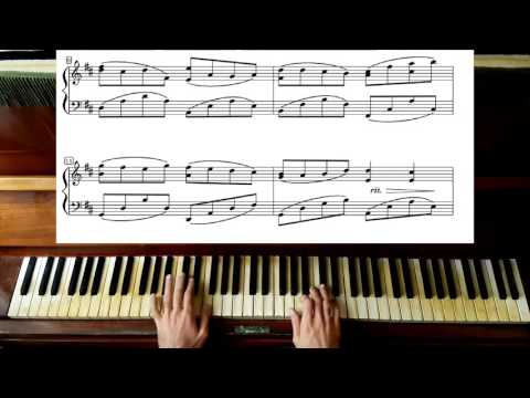 Pachelbel Canon in D Major - Piano Tutorial plus Sheet