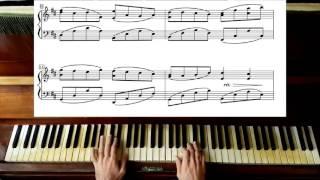 Пахельбель канон в ре мажор - фортепіано самовчитель листа плюс