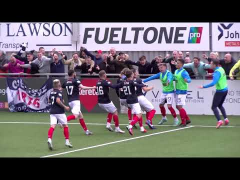 Cove Rangers Falkirk Goals And Highlights