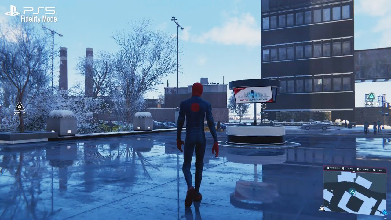 Spider-Man Miles Morales New Ray Tracing Gameplay