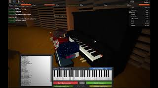 Minecraft Theme on Roblox Virtual Piano