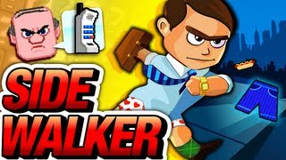 Sidewalker - Late to Work - Official Trailer - iOS Game - Temple Run meets Minecraft