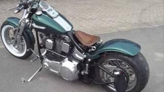 Bobber Harley Davidson Springer Softail 1990, customized 2008/2009 in Germany