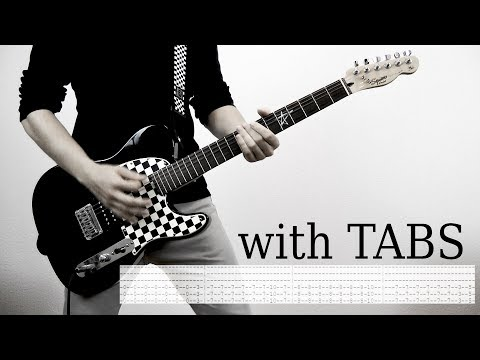 Papa Roach - Getting away with murder Cover w/Tabs on screen