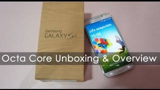 Samsung Galaxy S4 White Octa Core Unboxing (Indian Retail Unit) GT-I9500