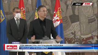 Obraćanje Nebojše Stefanovića