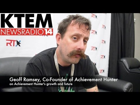 Achievement Hunter's Geoff Ramsey on AH's Growth and Future