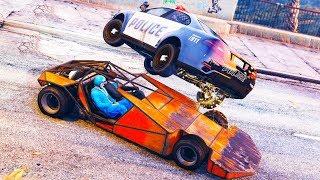Wir SCHLEUDERN Autos durch die Welt von GTA ONLINE! thumbnail
