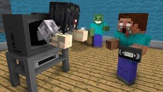 Canavar Okulu: Halka KORKU OYUNU MEYDAN - Minecraft Animasyon