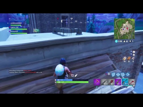 Fortnite Battle Royal Happy Easter Road To 140 subs
