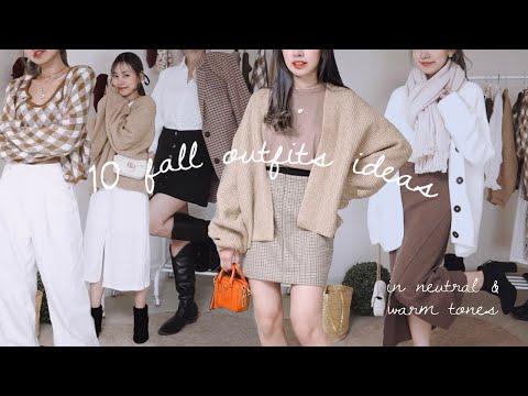 Late Fall Outfits แต่งตัวคลุมโทนสีน้ำตาล ไว้เที่ยวหน้าหนาว 10 ลุค