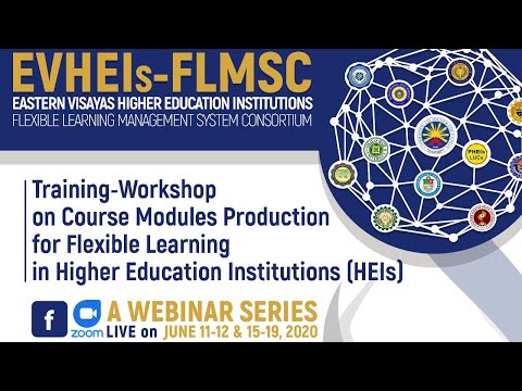 WEBINAR: Course Modules Production For FL In HEIs