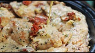 Как приготовить куриное филе в сливочно чесночном соусе