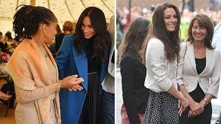 Meghan Markle mother vs Kate Middleton mother stepping into Royal Life