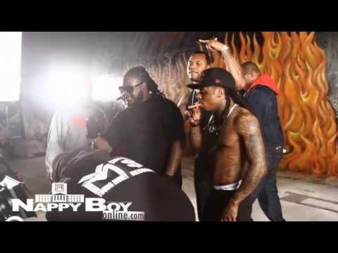 "BTS DJ Khaled- ""Welcome To My Hood"" Ft. Rick Ross, Plies, Lil' Wayne & T-Pain"