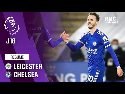 Résumé : Leicester 2-0 Chelsea - Premier League (J18)
