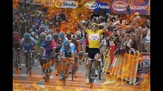 Most thrilling cycling finishes!! *Nailbiting*