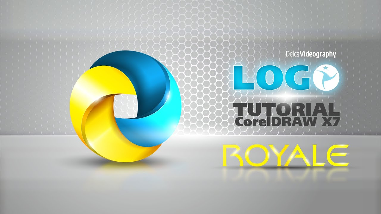 avanzado tutorial 30 corel draw x7 logo 3d profesional royale youtube. Black Bedroom Furniture Sets. Home Design Ideas