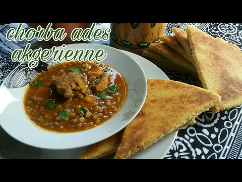soupe-aux-lentilles-🌟-chorba-3des-🌟