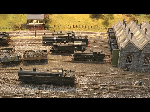 British Railway Modelling at its best: Abergavenny 00 Gauge layout at the Warley Model Railway Show