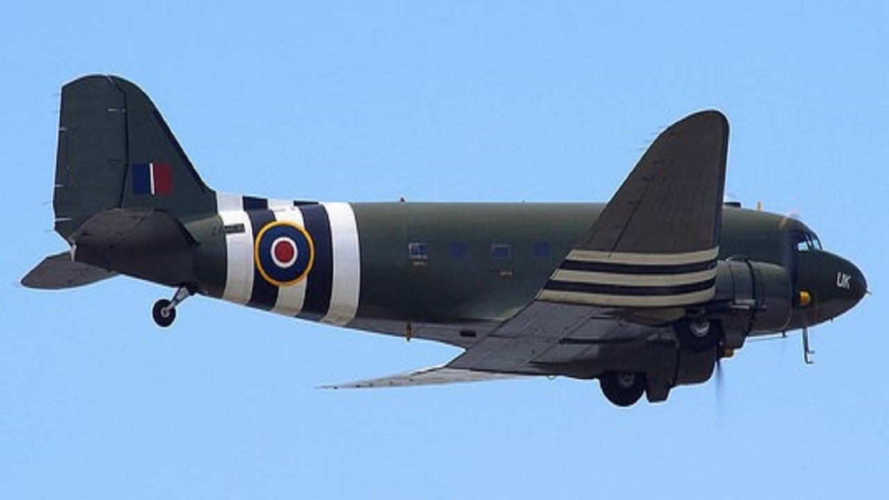 BBMF D-Day Douglas C47...