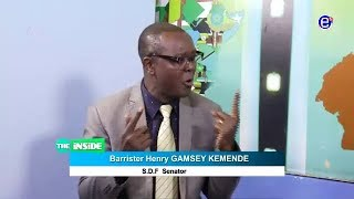 THE INSIDE (GUEST: Barrister HENRY GAMSEY KEMENDE ) SUNDAY MAY 20th 2018 EQUINOXE TV