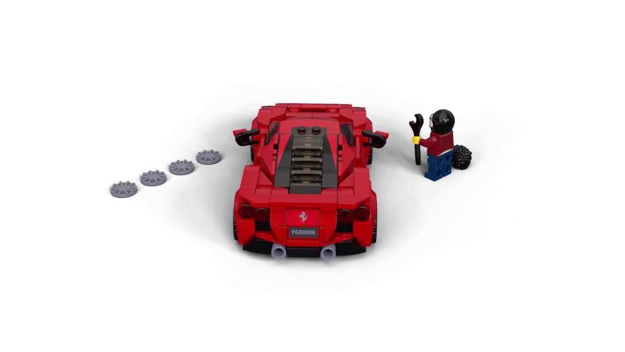 Lego Speed Champions Ferrari F8 Tributo 76895 Youtube