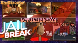 🔴 ROBLOX LIVE ? STEALING THE NEW JAILBREAK MUSEUM! R$ TO EVERY 10 SUBS!